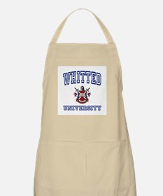 WHITTED University BBQ Apron