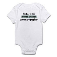 Worlds Greatest Cinematograph Infant Bodysuit