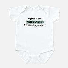 Worlds Greatest Cinematograph Infant Bodysuit