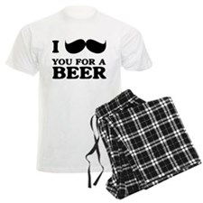 I mustache you for a beer Pajamas