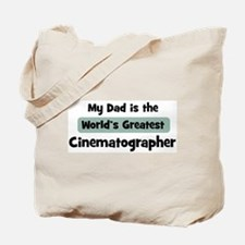 Worlds Greatest Cinematograph Tote Bag