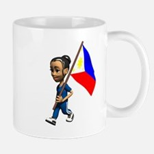 Philippines Girl Mug