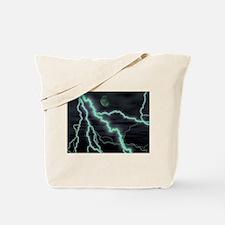moon lightening Tote Bag