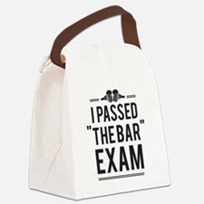 """I Passed """"The Bar"""" Exam Canvas Lunch Bag"""