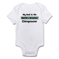 Worlds Greatest Chiropractor Infant Bodysuit