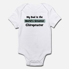 Worlds Greatest Chiropractor Onesie