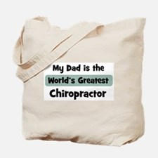 Worlds Greatest Chiropractor Tote Bag