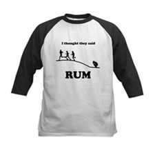 I thought they said RUM Baseball Jersey