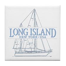 Long Island - Tile Coaster