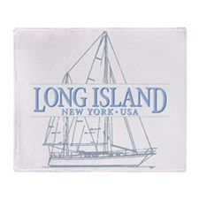 Long Island - Throw Blanket
