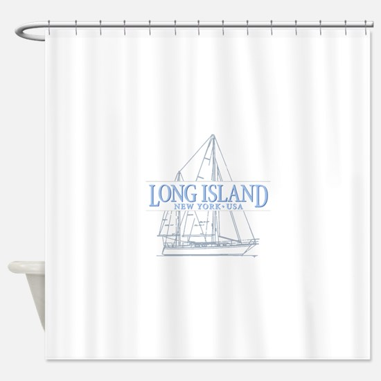 Long Island - Shower Curtain