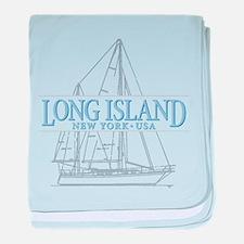 Long Island - baby blanket
