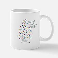 Merry And Bright Mugs