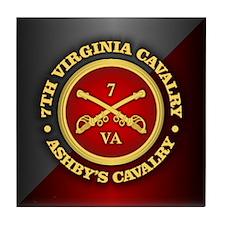 CSC-7th Virginia Cavalry Tile Coaster