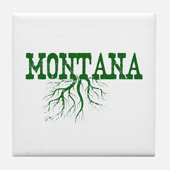 Montana Roots Tile Coaster