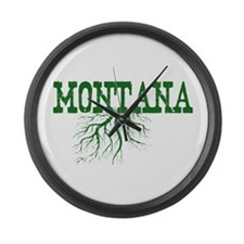 Montana Roots Large Wall Clock