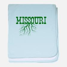 Missouri Roots baby blanket