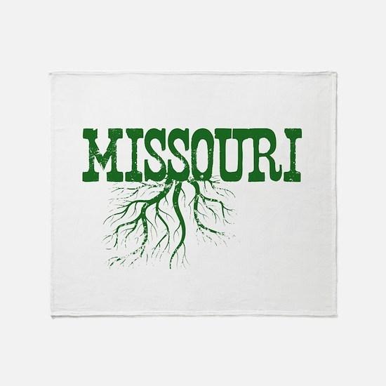 Missouri Roots Throw Blanket