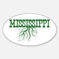 Mississippi Roots Sticker (Oval)
