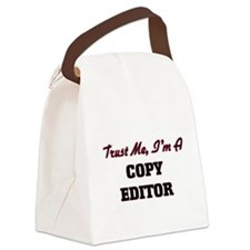 Trust me I'm a Copy Editor Canvas Lunch Bag