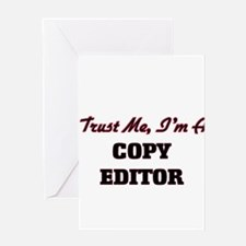 Trust me I'm a Copy Editor Greeting Cards
