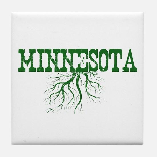 Minnesota Roots Tile Coaster