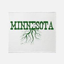 Minnesota Roots Throw Blanket