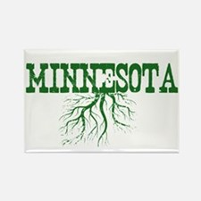 Minnesota Roots Rectangle Magnet