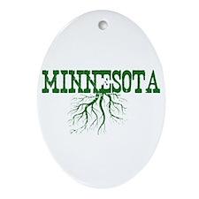 Minnesota Roots Ornament (Oval)