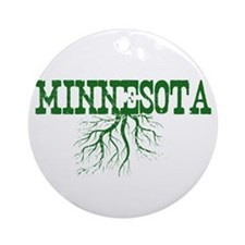 Minnesota Roots Ornament (Round)