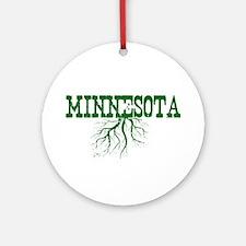 Minnesota Roots Ornament (Round)