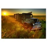 Antique trucks Wrapped Canvas Art