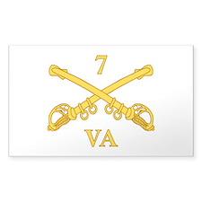 CSC-7th Virginia Cavalry Decal