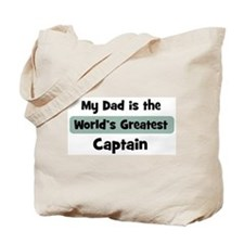 Worlds Greatest Captain Tote Bag