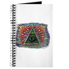 All Seeing Reptilian Eye Journal
