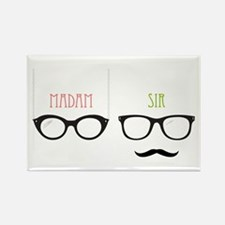 Madam Sir Glasses Magnets