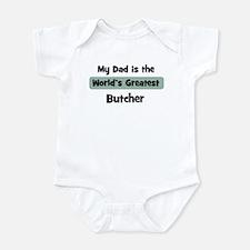 Worlds Greatest Butcher Infant Bodysuit