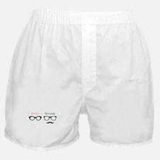 Bride Groom Glasses Boxer Shorts