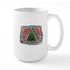 All Seeing Reptilian Eye Mugs