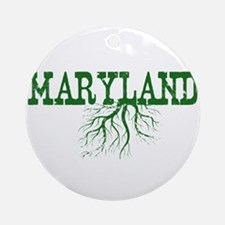 Maryland Roots Ornament (Round)