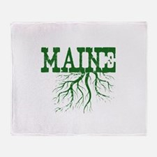 Maine Roots Throw Blanket