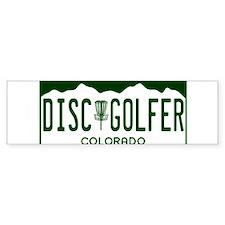 CO-Disc-Golfer Bumper Bumper Sticker
