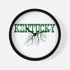 Kentucky Roots Wall Clock