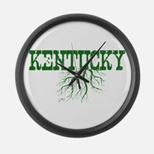 Kentucky Roots Large Wall Clock