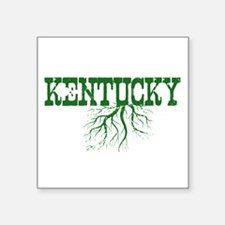 "Kentucky Roots Square Sticker 3"" x 3"""