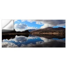 Clouds Reflected In A Lake In Killarney National P Wall Decal