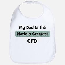 Worlds Greatest CFO Bib