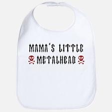 Mama's Little Metalhead Baby Bib