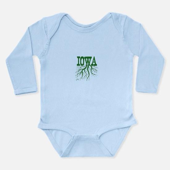 Iowa Roots Long Sleeve Infant Bodysuit