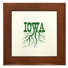 Iowa Roots Framed Tile
